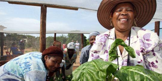 Operation Upgrade: Gemeinsam mit einer Partnerorganisation unterstützt Oxfam ein Projekt zur Existenzgründung für Frauen in Südafrika © Oxfam Deutschland