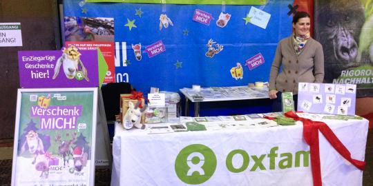 OxfamUnverpackt beim Heldenmarkt im Postbahnhof Berlin (Foto: Oxfam Deutschland)