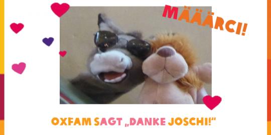 Er selbst geht zwar doch nicht nach Afrika, hatte dafür aber einen grandiosen Einfall: Der Esel Joschi! © Evangelische Kirchengemeinde Nieder-Eschbach