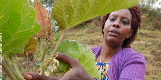 Gudile Nasine ist Frauenbeauftragte bei Oxfams Partnerorganisation UGEAFI © Reinhild Schumacher/ Oxfam Deutschland