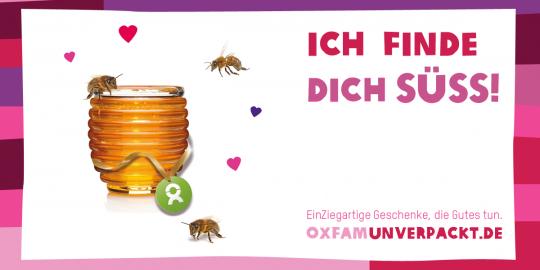 Das süßeste Geschenk zum Valentinstag: Die Honigbienen von OxfamUnverpackt!