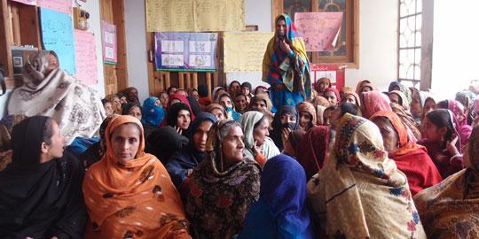 Frauengemeinschaftshaus in Pakistan (Foto: Oxfam Deutschland)